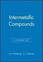Intermetallic Compounds: Intermetallic Compounds 4V Set - ISBN 9780471608141
