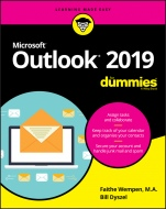 Outlook 2019 For Dummies - ISBN 9781119514091