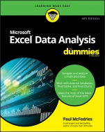 Excel Data Analysis For Dummies - ISBN 9781119518167