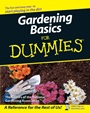 Gardening Basics For Dummies - ISBN 9780470037492