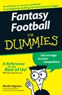 Fantasy Football For Dummies - ISBN 9780470125076