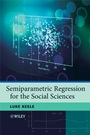 Semiparametric Regression for the Social Sciences - ISBN 9780470319918