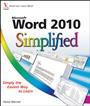 Word 2010 Simplified - ISBN 9780470577622