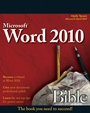Word 2010 Bible - ISBN 9780470591840