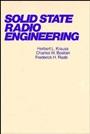 Solid State Radio Engineering - ISBN 9780471030188