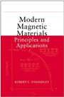 Modern Magnetic Materials: Principles and Applications - ISBN 9780471155669