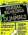 Herbal Remedies For Dummies - ISBN 9780764551277