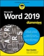 Word 2019 For Dummies - ISBN 9781119514060