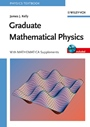 Graduate Mathematical Physics: With MATHEMATICA Supplements - ISBN 9783527406371