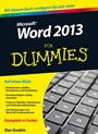 Word 2013 für Dummies - ISBN 9783527709335