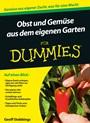 Obst und Gemüse aus dem eigenen Garten für Dummies - ISBN 9783527710355