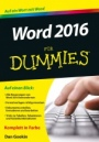 Word 2016 für Dummies - ISBN 9783527711895